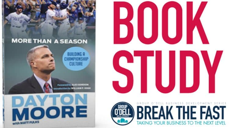 Group O'Dell-More Than a Season Book Study