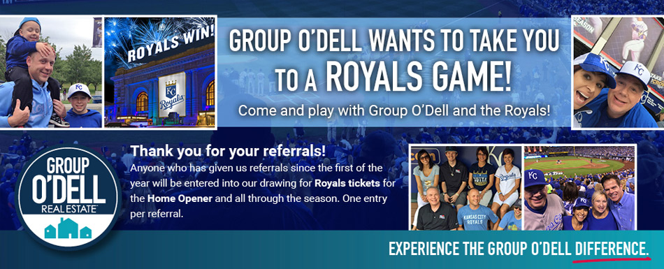 Group O'Dell wants to take you to a Royals game!