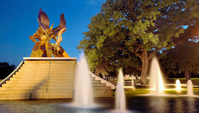 KC Fountain Flow: Spirit of Freedom Fountain