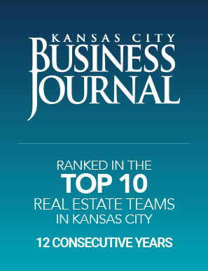 Group O'Dell Real Estate ranked in Top 10 Real Estate Teams in Kansas CIty