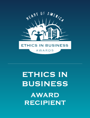 Group O'Dell Real Estate awarded Ethics In Business Award