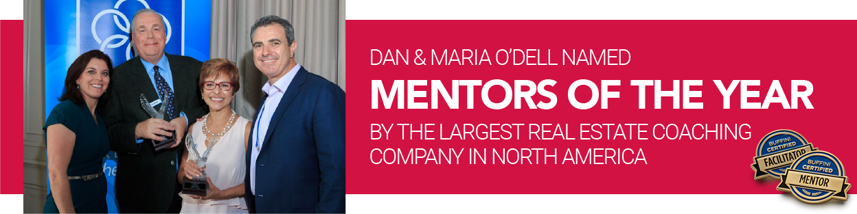 Dan and Maria O'Dell named Mentors of the Year