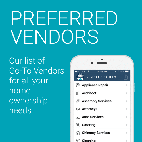 Our Preferred Vendors